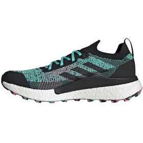 adidas TERREX Two Ultra Parley Trail Running Shoes Men acid mint/core black/screaming pink